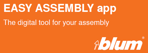Blum Easy Assembly App - Free Download - North East Sheets Panels Ltd